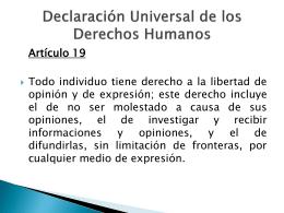 Diapositiva 1 - derechoycomunicacion