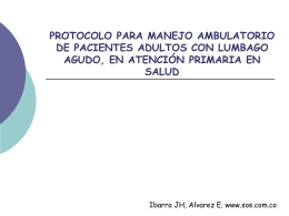 PROTOCOLO PARA MANEJO AMBULATORIO DE …