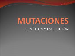 MUTACIONES - havs02 | Ciencias Naturales