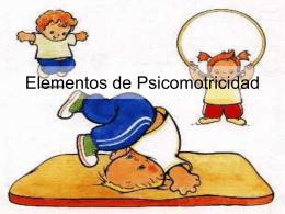 Elementos de Psicomotricidad - psicomotricidad2010