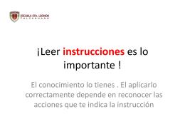 PREGUNTA - Escuela Santa Leonor Talcahuano