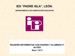 diapositiva 1 - IES Padre Isla