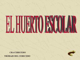 Diapositiva 1 - CRA CERECEDO