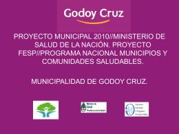 Adolescencia - Municipalidad de Godoy Cruz