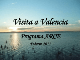 Visita a Valencia