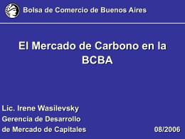 ARGENTINE STOCK MARKET SYSTEM