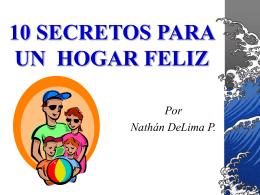 10 SECRETOS DE UN HOGAR FELIZ