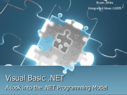 Visual Basic .NET - Florida Tech Tracks Authentication
