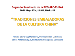 Segundo Seminario de la RED ALC-CHINA 26