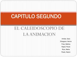 CAPITULO SEGUNDO