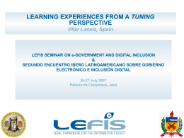 LEFIS SEMINAR ON E GOVERNMENT AND DIGITAL …