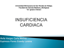 INDUFICIENCIA CARDIACA