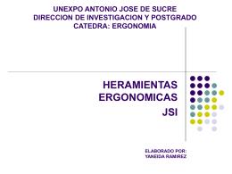 UNEXPO ANTONIO JOSE DE SUCRE DIRECCION DE …