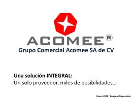 Grupo Comercial Acomee SA de CV