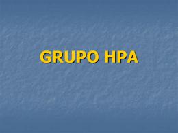 GRUPO HPA - Facultad de Ciencias Veterinarias