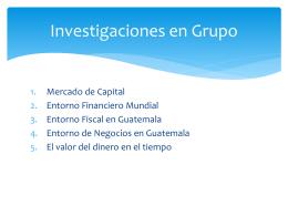 Investigaciones en Grupo