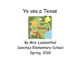 I See Texas - aisdprekshare / FrontPage