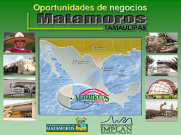 Diapositiva 1 - .:: IMPLAN Matamoros