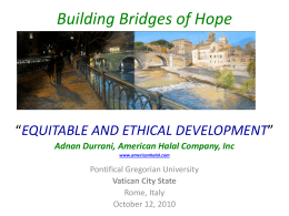 Building Bridge of Hope