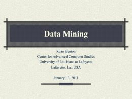The Item-Set Tree: A Data Structure for Data Mining