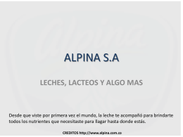 ALPINA S.A