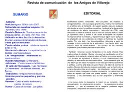 Diapositiva 1 - Villorejo.com