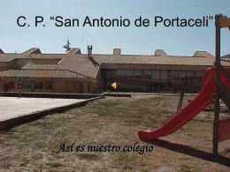 """C. P. """"San Antonio de Portaceli"""""""