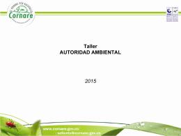 Taller Tramites Ambiental y Control y Seguimiento