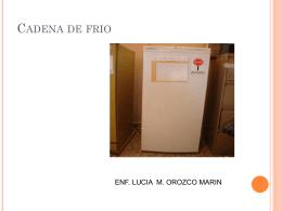 LA CADENA DE FRIO II - // Ministerio de Salud // San Luis