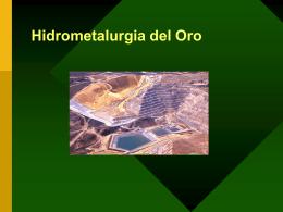 HIDROMETALURGIA DEL ORO - Geco