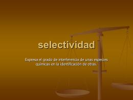 selectividad - cualiplumerillo