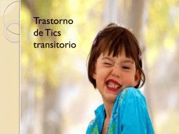 Trastorno de Tics Transitorio