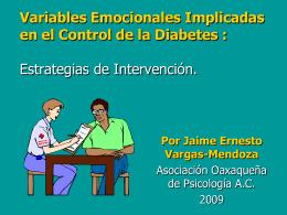 Variables Emocionales Implicadas en el Control de la