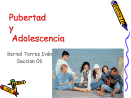 Pubertad v/s Adolescencia