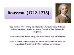Rousseau (1712