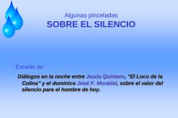 SOBRE EL SILENCIO - Dominicos