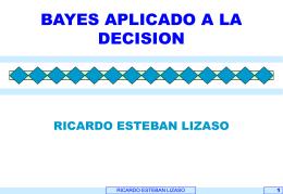 BAYES APLICADO A LA DECISION