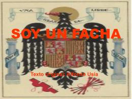 SOY UN FACHA