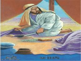 El efecto del pecado de Acan