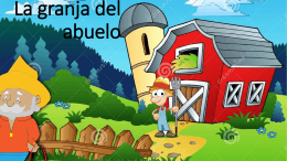 La granja del abuelo - Red Digital de Intercambio Docente