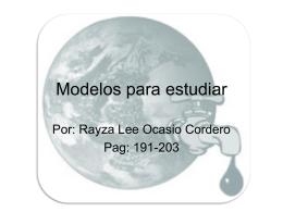 Modelos para estudiar