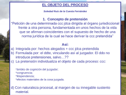 Power Point, El objeto del proceso