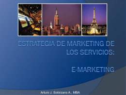 Marketing del Turismo - e