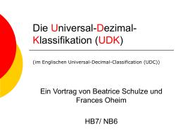 Die Universal-Dezimal
