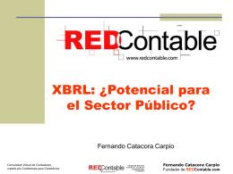 XBRL para las NIC-IFRS