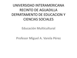 UNIVERSIDAD INTERAMERICANA RECINTO DE …