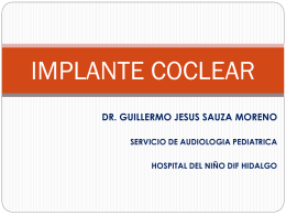 IMPLANTE COCLEAR - asesordos