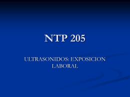 NTP 205 - PREVENCIONPR3