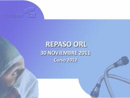 REPASO ORL - ::.. Aula-MIR