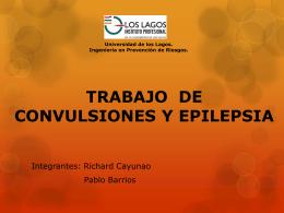 Trabajo de Epilepsia y convulsiones
